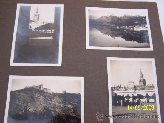 Fotografía antigua: 60 FOTOGRAFIAS ANTIGUAS EN UN ÁLBUM DE 20 X 27 CM. - Foto 7 - 25271630