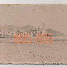 Fotografía antigua: SITGES - 1895-1905 . Lote 27321052