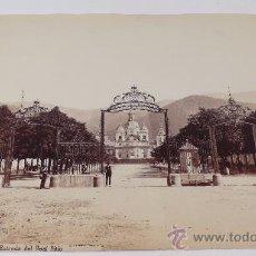 Fotografía antigua: LA GRANJA, SAN ILDEFONSO (SEGOVIA). FOTO: LAURENT. 1076. ALBÚMINA SIN MONTAR EN. Lote 27373466