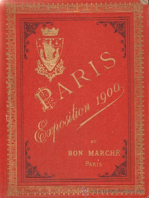 PARIS EXPOSITION 1900 AU BON MARCHE (Fotografía Antigua - Albúmina)