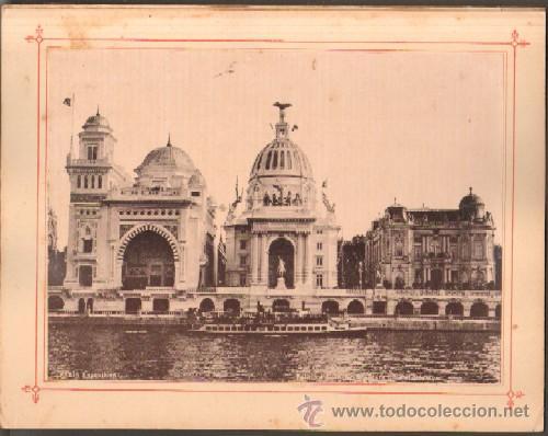 Fotografía antigua: PARIS EXPOSITION 1900 AU BON MARCHE - Foto 3 - 13802358