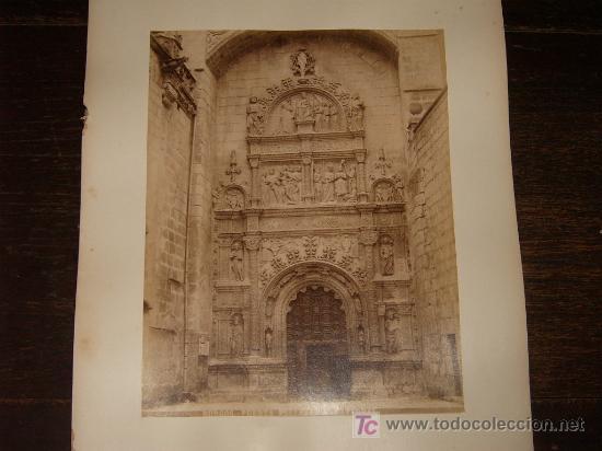 LOTE 4 ALBUMINAS XIX BURGOS. (Fotografía Antigua - Albúmina)