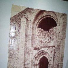 Fotografía antigua: MUY RARA ALBUMINA LAURENT SEGOVIA, Nª Sª DE LA SIERRA.. Lote 25512258