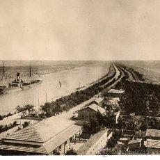 Fotografía antigua: CANAL DE SUEZ 1914 FOTO 17 X 23 CM.. Lote 14605952