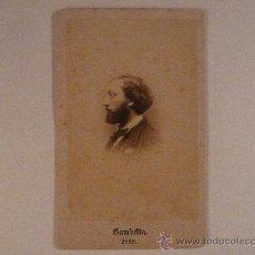 Fotografía antigua: GAMBETTA,PRESIDENTE DE LA III REPÚBLICA FRANCESA.. Lote 24051395