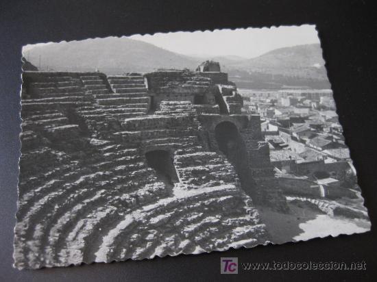 FOTOGRAFIA DEL ANFITEATRO DE SAGUNTO AÑOS 60 (Fotografía Antigua - Albúmina)