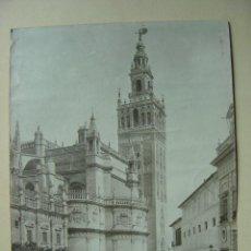 Fotografía antigua: SEVILLA, SIVIGLIA -Nº 17022- II CAMPANILE DELLA GIRALDA -FOTOGRAFO: ANDERSON, ROMA - AÑO 1890 APROX.. Lote 26948575