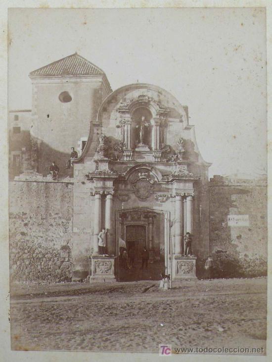 CATALUÑA. IGLESIA POR IDENTIFICAR, 1890'S. 13,5X10 CM. SOPORTE: 25X16,5 CM (Fotografía Antigua - Albúmina)
