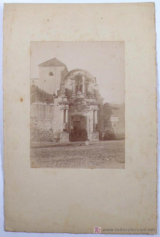 Fotografía antigua: Cataluña. Iglesia por identificar, 1890's. 13,5x10 cm. soporte: 25X16,5 CM - Foto 3 - 15549717