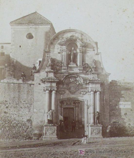 Fotografía antigua: Cataluña. Iglesia por identificar, 1890's. 13,5x10 cm. soporte: 25X16,5 CM - Foto 2 - 15549717