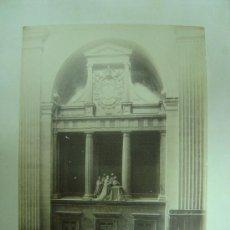 Fotografía antigua: PRECIOSA ALBUMINA EL ESCORIAL -2241- ENTERRAMIENTO DEL EMPERADOR CARLOS V -J. LAURENT Y CIA., MADRID. Lote 27096064