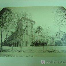 Fotografía antigua: PRECIOSA ALBUMINA SEVILLA -1339- VISTA GENERAL DEL PALACIO DE SAN TELMO - J. LAURENT Y CIA., MADRID. Lote 26835539
