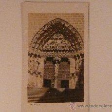 Fotografía antigua: BURGOS.CATEDRAL.PUERTA DEL SACRAMENTAL. FOTÓGRAFO: APARICIO. BURGOS. Lote 17448512