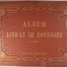 Alte Fotografie - 18 ALBÚMINAS .ALBUM VON LINDAU IM BODENSEE. EDITOR: WILH LUDWIG' S. BUCHHANDLUNG. LINDAU. - 17784249