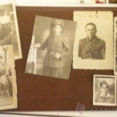 Fotografía antigua: LOTE DE 6 FOTOS PEQUEÑAS, GUERRA CIVIL O ANTERIOR. Lote 17888505
