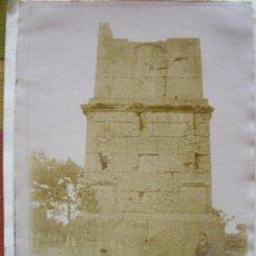 Fotografía antigua: FOTOGRAFIA ALBUMINA TARRAGONA TORRE DE LOS SCIPIONES PRINCIPIOS DE SIGLO. Lote 26465281