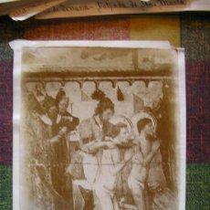 Fotografía antigua: FOTOGRAFIA ALBUMINA TERRASSA TARRASA RETABLO. Lote 18887312