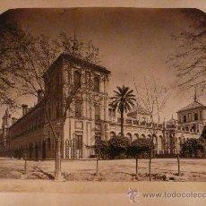 Fotografía antigua: SEVILLA.PALACIO DE SAN TELMO. FOTÓGRAFO LAURENT.. Lote 27046862