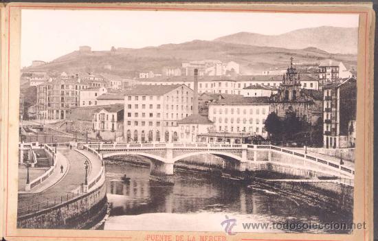 Fotografía antigua: AÑO 1895.- ÁLBUM FOTOGRÁFICO DE BILBAO Y SUS ALREDEDORES. EDITOR JUAN B. PATRÓN .-BILBAO - Foto 2 - 19800834