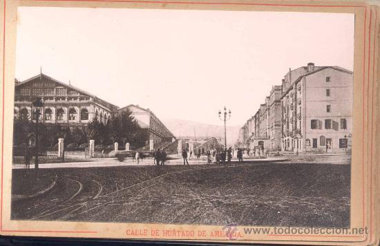 Fotografía antigua: AÑO 1895.- ÁLBUM FOTOGRÁFICO DE BILBAO Y SUS ALREDEDORES. EDITOR JUAN B. PATRÓN .-BILBAO - Foto 3 - 19800834