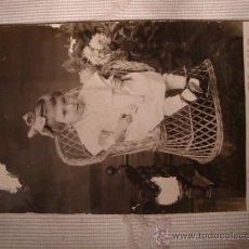 Fotografía antigua: ANTIGUA FOTOGRAFIA TARJETA POSTAL. ELCHE. Lote 20573538