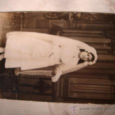 Fotografía antigua: ANTIGUA FOTOGRAFIA TARJETA POSTAL. ELCHE. Lote 20573555