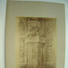 Fotografía antigua: TOLEDO, Nº 1346 - S. JEAN LLES ROIS - L.LEVI - AÑOS 1880-1890. Lote 21241729