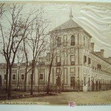 Fotografía antigua: SEVILLA, Nº 1337 -PALACIO DE SAN TELMO POR LA PARTE DEL NORTE- J. LAURENT - AÑOS 1880-1890. Lote 26971407