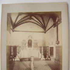 Fotografía antigua: SEVILLA, Nº 84 - MAISON DE PILATE. LA CHAPELLE- L. LEVI - AÑOS 1880-1890. Lote 26971408