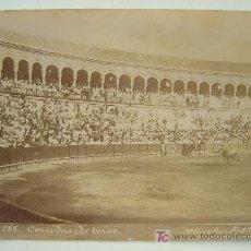 Fotografía antigua: CORRIDA DE TOROS - EL PICADOR - ALMELA FOTO. - AÑOS 1880-1890. Lote 21242755