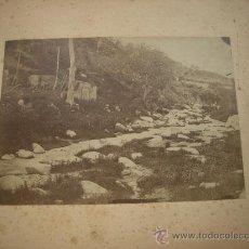 Fotografía antigua: ANTIGUA FOTO ALBÚMINA PROBABLEMENTE DE BARCELONA. Lote 24708041