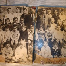 Fotografía antigua: ANTIGUA FOTOGRAFIA DE COLEGIO, ES DE P.P.S.XX. Lote 21945565