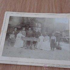 Fotografía antigua: FOTO ANTIGUA 12X9 CMS. Lote 27112655