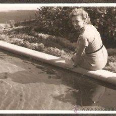 Fotografía antigua: PASEO DE VALENCIA AL MAR. AÑO 1953. Lote 26909908