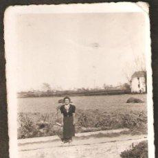 Fotografía antigua: HUERTA DE VALENCIA. 4 ABRIL 1938. Lote 25557832