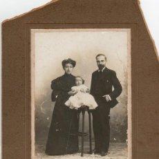 Fotografía antigua: FOTOGRAFIA ANTIGUA FAMILIA FOTOGRAFO MODELO MENDOZA. Lote 22998001