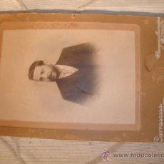 Fotografía antigua: ANTIGUA FOTOGRAFIA EN CARTON, FOTOGRAFO F. CARRASCOSA, MADRID.. Lote 23056239