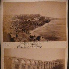 Fotografía antigua: 3 ÁLBUMINAS DE TARRAGONA.. Lote 23063639