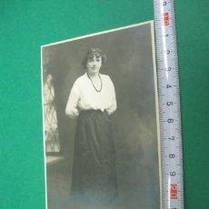 Fotografía antigua: ANTIGUA FOTOGRAFIA. PP.SG.XX. . Lote 23516348