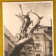 Fotografía antigua: VALENCIA. 1ER PREMIO AÑO 1960. FALLA PLAZA DEL COLLADO. Lote 26755981