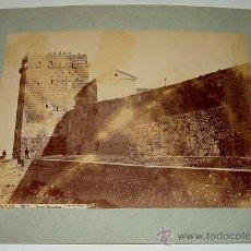 Fotografía antigua: ANTIGUA FOTOGRAFIA ALBUMINA DE TARRAGONA - 1237 - TORE ROMANA - J. LAURENT - MIDE 33,5 X 25 CMS SIN . Lote 27267991