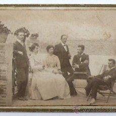 Fotografía antigua: LA SEU D'URGELL, LLEIDA. AÑO 1901. TORRE DE CASA MONTSERRAT, 8X12,5 CM.. Lote 24428245