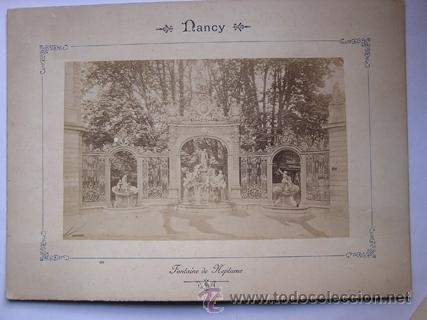 FOTOGRAFIA ANTIGUA DE NANCY. ALBUMINA. 24 X 18 (Fotografía Antigua - Albúmina)