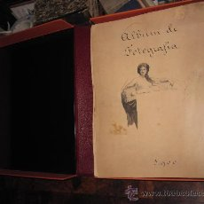Fotografía antigua: MAGNÍFICO ALBUM O MOSTRARIO DE FOTOGRAFO PROFESIONAL 1880-1900 GRANADA, MADRID, 218 FOTOS.. Lote 24575558