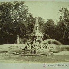 Fotografía antigua: J.LAURENT. SAN ILDEFONSO 120 - FUENTE DE LOS DRAGONES. Lote 24891601