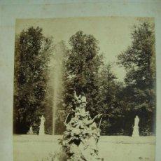Fotografía antigua: J.LAURENT. SAN ILDEFONSO 113 - FUENTE DE LOS ANDROMEDA. Lote 24891609