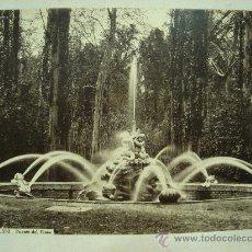 Fotografía antigua: J.LAURENT. SAN ILDEFONSO 133 - FUENTE DEL CISNE. Lote 24891626