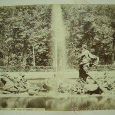 Fotografía antigua: J.LAURENT. SAN ILDEFONSO 1082 - GRUPO DE NEPTUNO. Lote 24891637