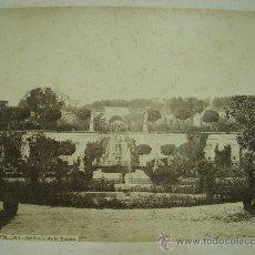 Fotografía antigua: J.LAURENT. EL PARDO 105 - JARDINES DE LA QUINTA. Lote 24891651