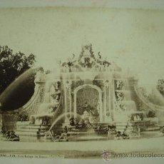 Fotografía antigua: J.LAURENT. SAN ILDEFONSO 119 - LOS BAÑOS DE DIANA. Lote 24891696